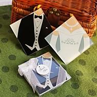 noiva eo noivo coasters (conjunto de 2)