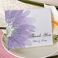Thank You Card - Shining Lilac (Set of 50)