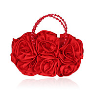 Silk With Imitation Pearl Clutch/Evening Bag (More Colors)