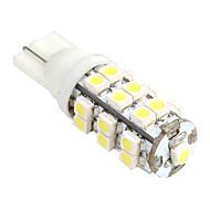 T10 1W 25xSMD LED 40LM 5500K White Light LED (12V)