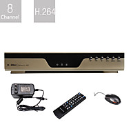 Ultra Low Price 8 Channel DVR (H.264 Compression, Network)