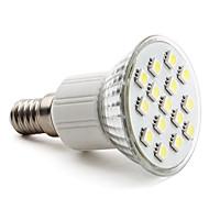 E14 2.5 W 15 SMD 5050 200 LM Natural White PAR Spot Lights AC 220-240 V