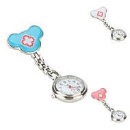 Dames Modieus horloge Sleutelhanger Horloge Kwarts Band Zilver Merk