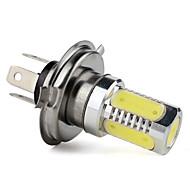 Ampoule Blanche pour Voiture, 5 LED, H4 Haute Puissance 7.5W 400LM