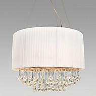 krystall taklampe med 5 lys