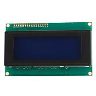 2004 20X4 hvid skrift LCD display modul
