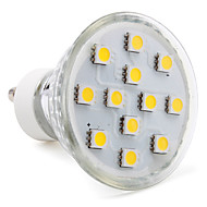 3W GU10 LED Spot Lampen MR16 12 SMD 5050 150 lm Warmes Weiß AC 220-240 V