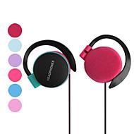 hovedtelefon 3,5 mm hook lys kan justeres til media player (assorterede farver)