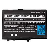 닌텐도 DS, DS 라이트, DSI (3.7V, 1800mah)에 대한 드라이버와 충전식 배터리 팩