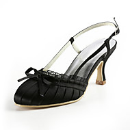 Women's Wedding Shoes Heels Sandals Wedding Black/Blue/Pink/Red/Ivory/White/Silver