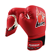 High Quality Leather Full Finger Kid's Boxing Gloves (Average Size)