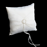 Rhinestone Wedding Ring Pillow