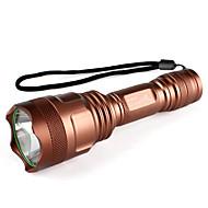 UltraFire C18 5-mode CREE XM-L T6 LED svítilna (800lm, 1x18650, měď)