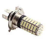 H4 4.2W 126x3528 SMD 6500-7000K White Light LED Blub for Car Lamps (DC 12V)