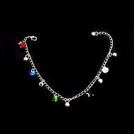 Women's Anklet Bracelet Alloy Multi-stone