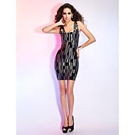 Sheath/Column Square Sleeveless Short/Mini Bandage Dress