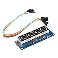 8 x syv-segment display modul (til Arduino) (595 driver)