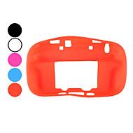 di alta qualità in silicone caso di protezione per wii u controller (colori assortiti)