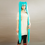 Cosplay Wigs Vocaloid Hatsune Miku Blue Extra Long Anime/ Video Games Cosplay Wigs 150 CM Male / Female