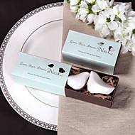 céramique oiseau sel et poivre faveur de mariage shakerss (lot de 2)