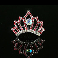 Blomsterpige Rhinsten/Legering Medaljon Bryllup/Speciel Lejlighed Diademer Bryllup/Speciel Lejlighed
