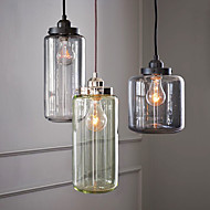 Max 60W Pendant Light ,  Traditional/Classic / Vintage / Retro Shiny Feature for Mini Style Acrylic Living Room / Dining Room