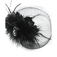 Voile de cage à oiseaux Casque Occasion spéciale Plume/Tulle Femme Occasion spéciale
