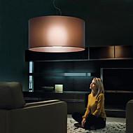 60W E27 clássico do estilo de Ferro Luz encastrar com Sombra Café