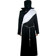 Inspiriert von Black Butler Untertaker Anime Cosplay Kostüme Cosplay Kostüme Patchwork Schwarz Lange Ärmel Mantel / Umhang