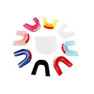 더블 데크 복싱 마우스 피스는 마주 (임의 색상)를