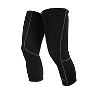 NUCKILY Bike/Cycling Leg Warmers/Knee Warmers Men's / Kid's / Unisex Thermal / Warm / Reduces Chafing / Fleece Lining Solid Cycling/Bike