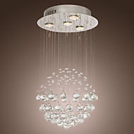 SL® Chandelier Luxury Modern Crystal 4 Lights