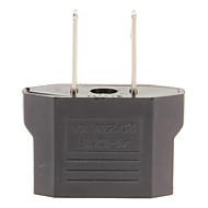110-240V US Plug to EU and US Plug AC Power Adapter