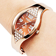 Women's Watch Diamond Decor Bronze Steel Cool Watches Unique Watches Fashion Watch
