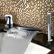 BARRY - ברז לאמבטיה שתי ידיות מפל מים