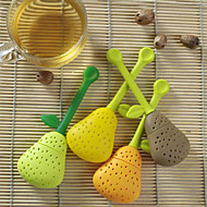Perfect Pear Shaped silicona Tea Infuser Favor (más colores)