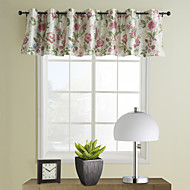 País Floral Tailored Valance