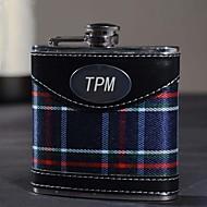 Gift Groomsman Personalized Pretty 6-oz Flask