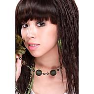 Capless sintéticos de alta qualidade a longo ondulado Luz cabelo Perucas