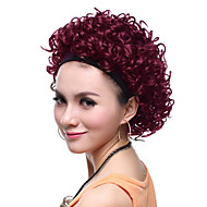 Capless hochwertige synthetische Short Curly Red Hair Perücken