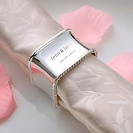 Personalized Square aleación de alta calidad de la servilleta anillo (más colores)