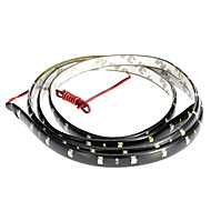 LED Light Strips 120CM Red/White/Blue-Ray