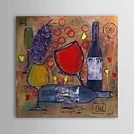Handgeschilderde Abstract / Stilleven Eén paneel Canvas Hang-geschilderd olieverfschilderij For Huisdecoratie