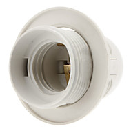 E27 Base Bulb draadsok Lamp Holder (White)