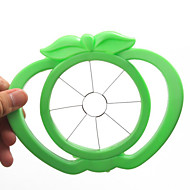 Narzędzie w kształcie jabłka owoce krajalnica plastik proste cięcia (losowe kolory)