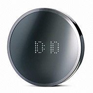 Beauty Mirror Digital Alarm Clock (White, 1xAAA)