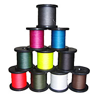 300M / 330 Yards / 500M / 550 Yards PE Braided Line / Dyneema / Superline Fishing Line White / Yellow / Fuchsia / Red / Blue / Coffee8LB