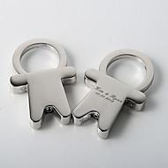 personlig bygel utformningen nyckelring bröllop tjänst (sats om 4)