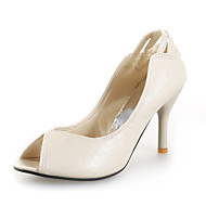 Leatherette Stiletto Heel Sandals With Hollow-out Party / Evening Shoes (More Colors)