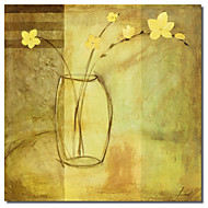 Painettu Canvas Art Yellow Vase Pablo Esteban venytetty Frame